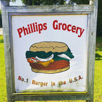 Phillips Grocery Lunch Menu Logo
